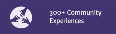 200+ Community Experiences