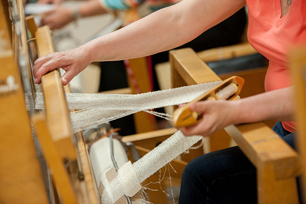 Sydney Weavers' Guild Weaving Demonstration and Tea and Sale